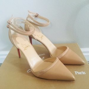 Christian Louboutin Shoes - CHRISTIAN LOUBOUTIN Uptown Ankle Strap Pump